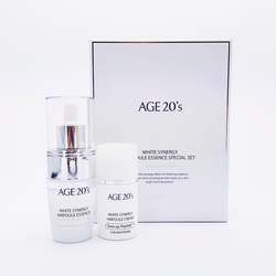 AGE 20S WHITE SYNERGY AMPOULE ESSENCE TONE-UP PEPTIDE SET