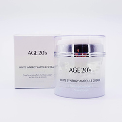 AGE 20S WHITE SYNERGY AMPOULE CREAM - TONE-UP PEPTIDE 50ML