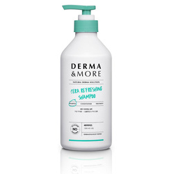 DERMA & MORE CERA REFRESHING SHAMPOO 600ML