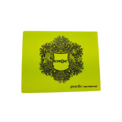 CROC HEAT PROOF MAT GREEN