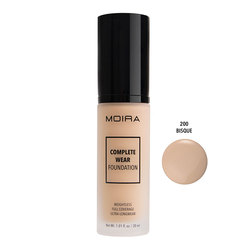 MOIRA COMPLETE WEAR FOUNDATION #200 BISQUE - CWF200