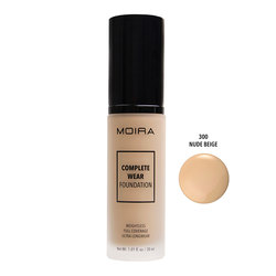 MOIRA COMPLETE WEAR FOUNDATION #300 NUDE BEIGE - CWF300