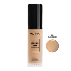 MOIRA COMPLETE WEAR FOUNDATION #350 CLASSIC BEIGE - CWF350