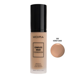 MOIRA COMPLETE WEAR FOUNDATION #500 HONEY SAND - CWF500