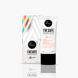 SUNTIQUE IM SAFE FOR BABY & SILVER SPF35 50ML