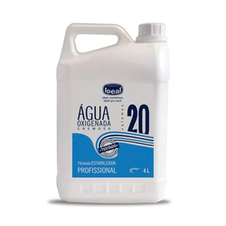 IDEAL AGUA OXIGENADA CREMOSA VOL. 20 4LT