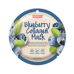 PUREDERM BLUEBERRY COLLAGEN MASK ADS803