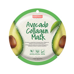 PUREDERM AVOCADO COLLAGEN MASK ADS802