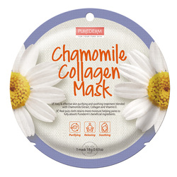 PUREDERM CHAMOMILE COLLAGEN MASK ADS804
