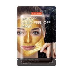 PUREDERM GALAXY GOLD PEEL-OFF MASK 10G ADS471