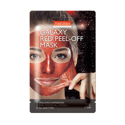PUREDERM GALAXY RED PEEL-OFF MASK 10G ADS473