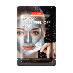 PUREDERM GALAXY SILVER PEEL-OFF MASK 10G ADS474
