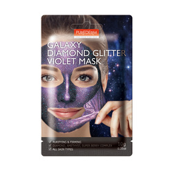 PUREDERM GALAXY DIAMONG GLITTER VIOLET MASK ADS476