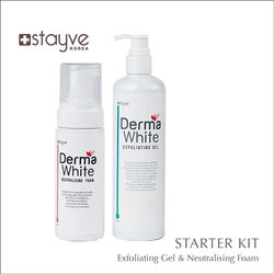STAYVE DERMA WHITE EXFOLIANTE GEL+ NEUTRALISING FOAM