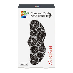 PUREDERM CHARCOAL DESIGN NOSE PORE STRIPS