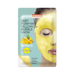 PUREDERM DEEP PURIFYING YELLOW O2 BUBBLE MASK