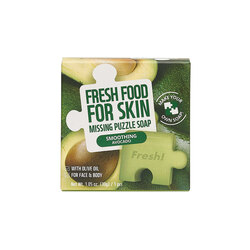 FARM SKIN FRESH FOOD FOR SKIN MISSING PUZZLE SOAP - SMOOTHING AVOCADO