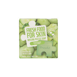 FARM SKIN FRESH FOOD FOR SKIN MISSING PUZZLE SOAP - SOOTHING CUCUMBER