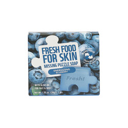 FARM SKIN FRESH FOOD FOR SKIN MISSING PUZZLE SOAP - ENERGIZING BLUEBERRY