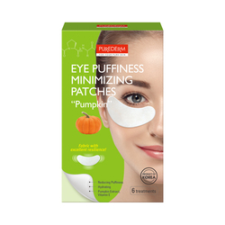 PUREDERM EYE PUFFINES MINIMIZING PATCHES  PUMPKIN ADS666