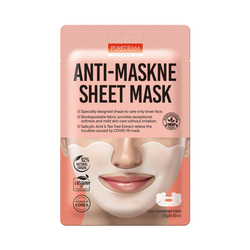 PUREDERM ANTI-MASKNE SHEET MASK - ADS764