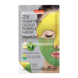 PUREDERM 2X PURIFYING CLOUD BUBBLE MASK -ADS792