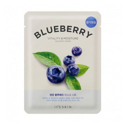 ITS SKIN BLUEBERRY VITALY&MOISTURE MASK