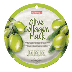 PUREDERM OLIVE COLLAGEN MASK -ADS809