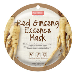 PUREDERM RED GINSENG ESSENCE MASK- ADS810