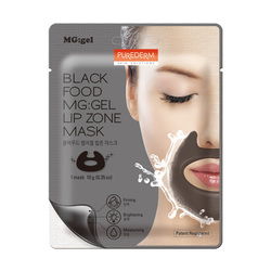 PUREDERM BLACK GEL LIP ZONE MASK ADS376