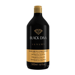 YBERA BLACK DIVA SHAMPOO LIGHT POO 500ML